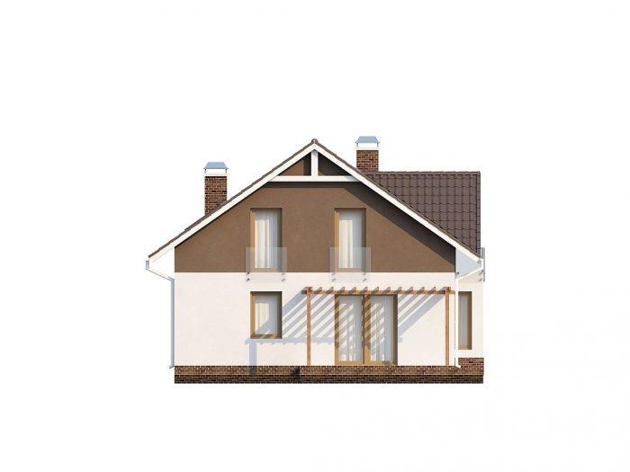 Проект загородного дома Z128