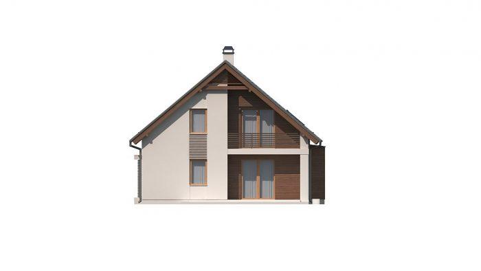 Проект загородного дома Z166