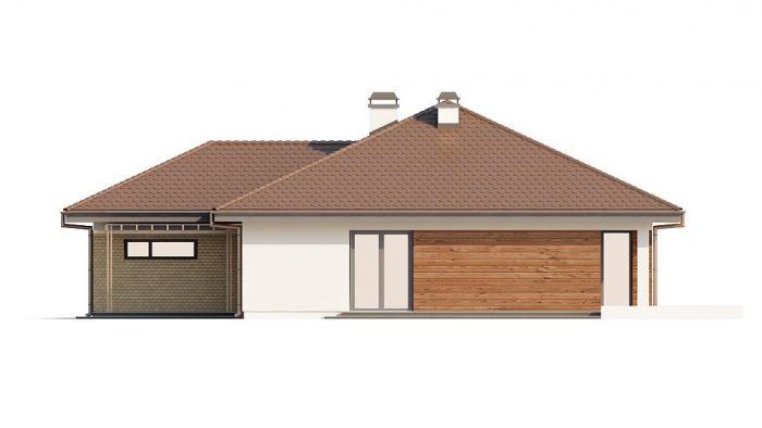 Проект загородного дома Z203