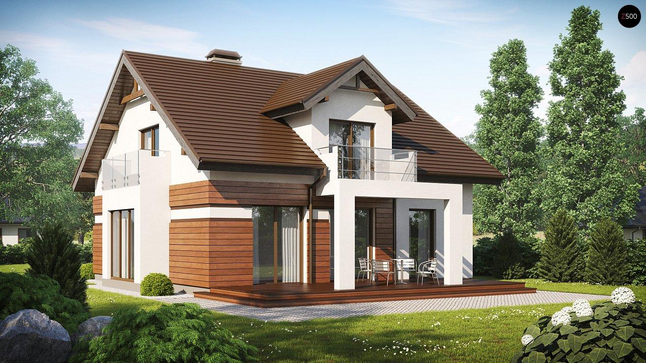 Проект загородного дома Z28 v2