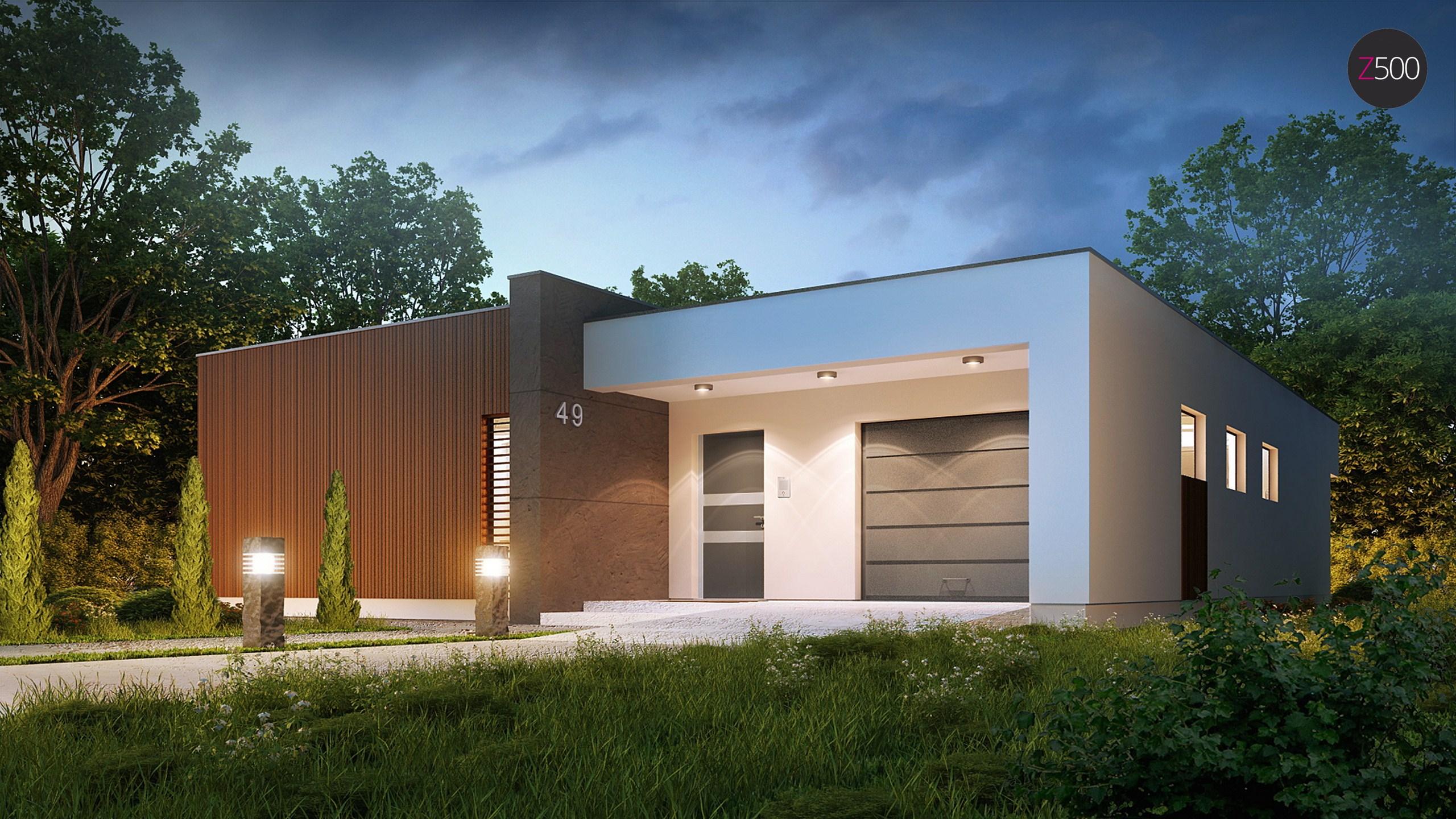 Проект загородного дома ZX49