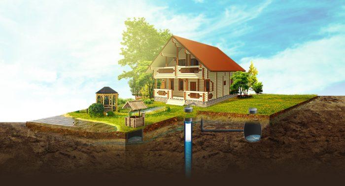 Скважина и водоснабжение