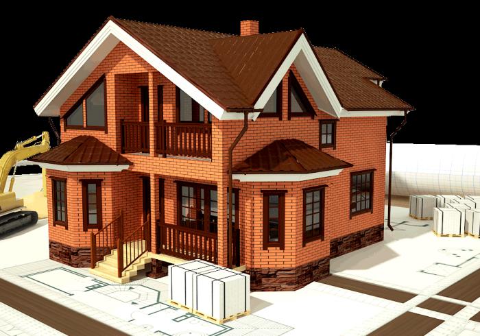 Строительство загородных кирпичных домов