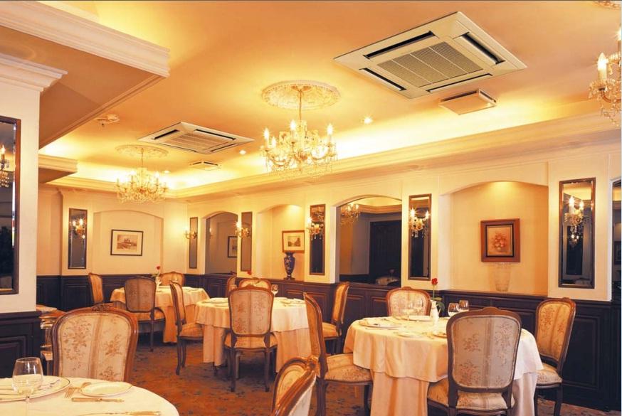 Вентиляция гостевого зала