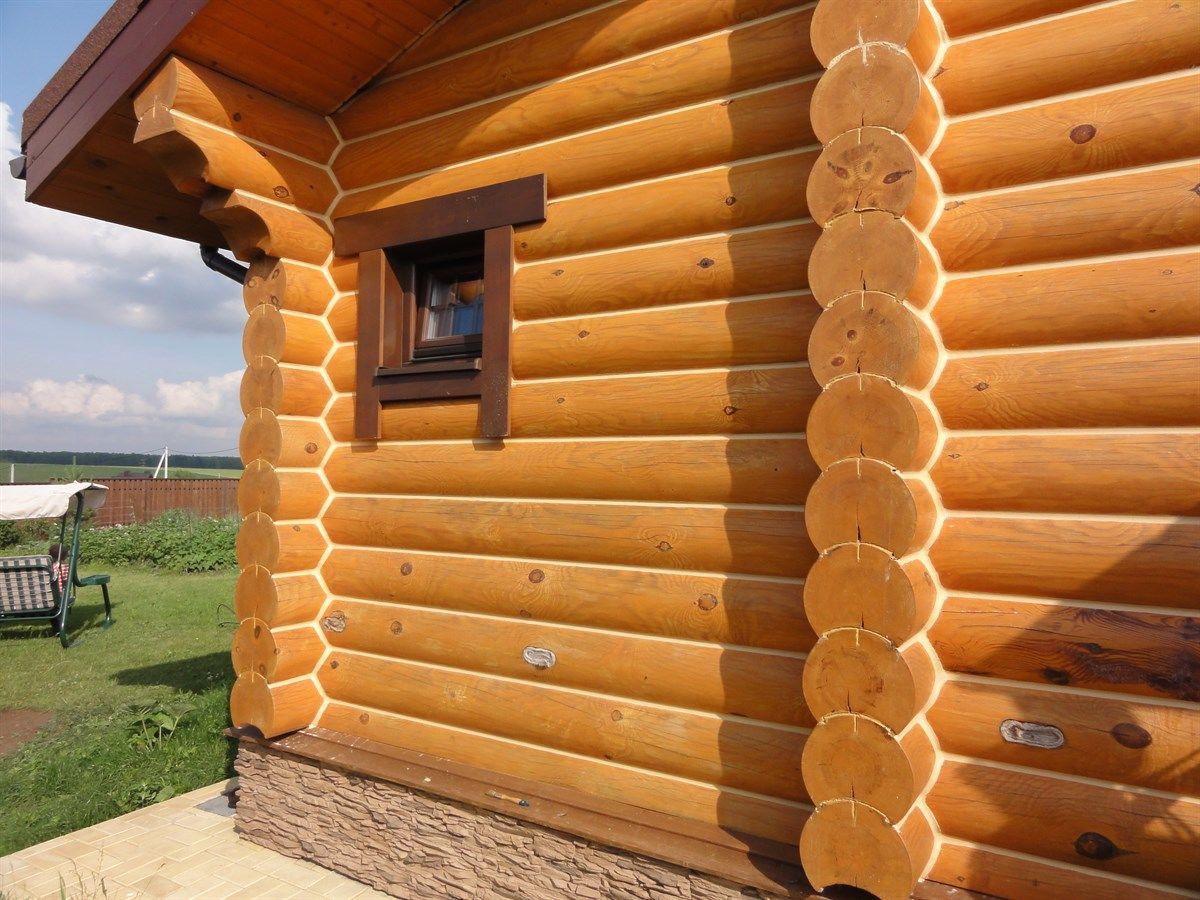 Выравнивание деревянного дома