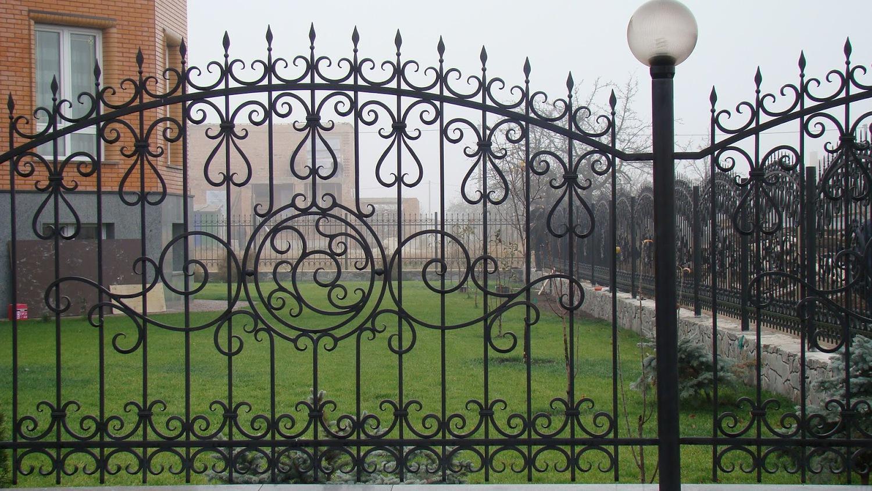 Забор Металлический кованый - сварной