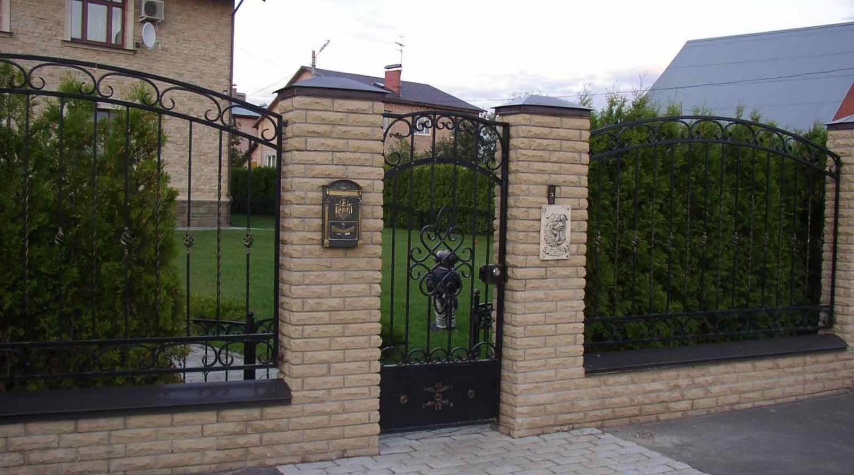 Забор для загородного участка