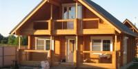 Как построить двускатную крышу дома