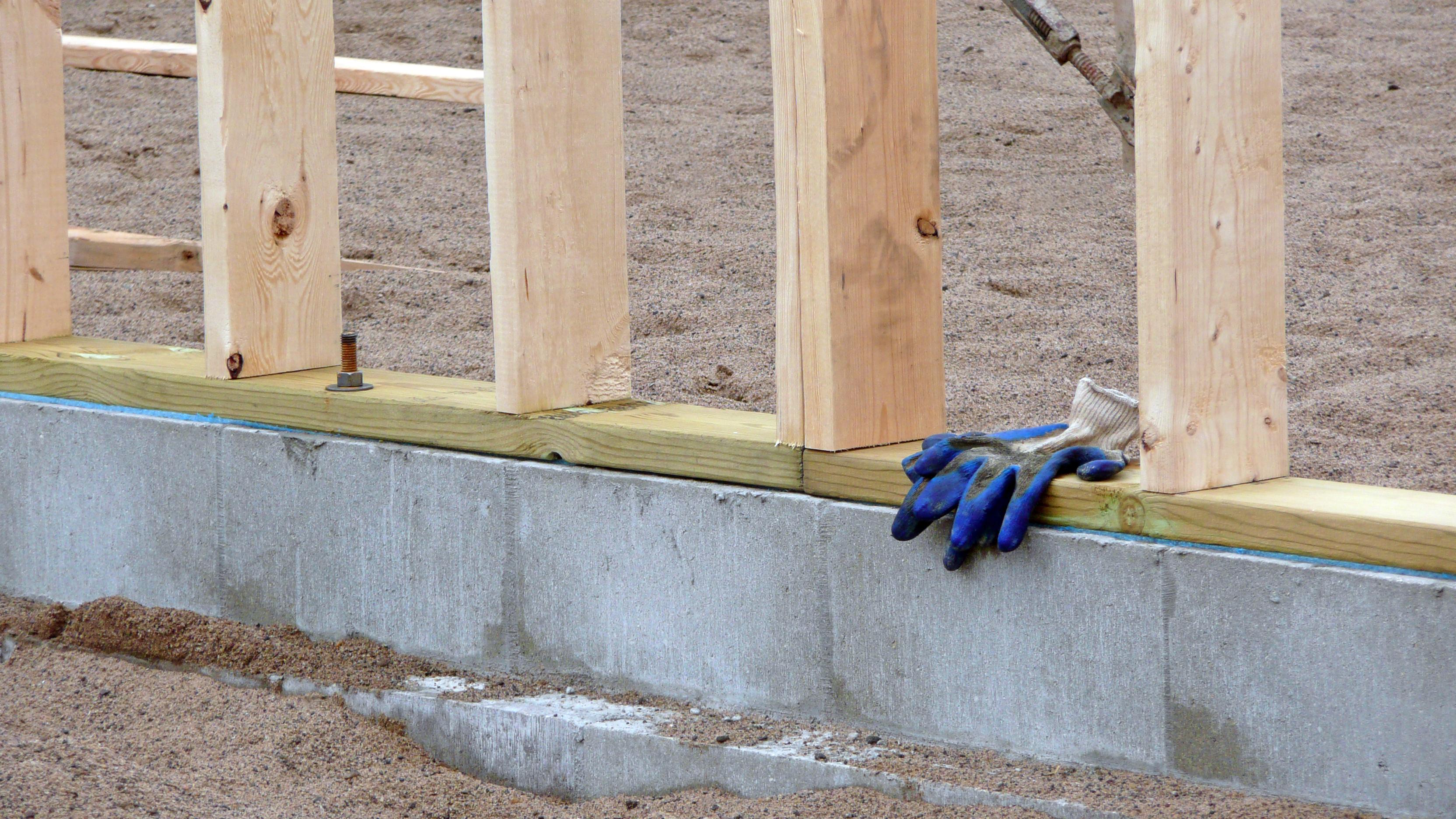 фундамент для дома из клееного бруса