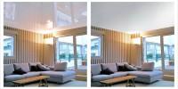 Какие лучше выбрать, глянцевые или матовые натяжные потолки?