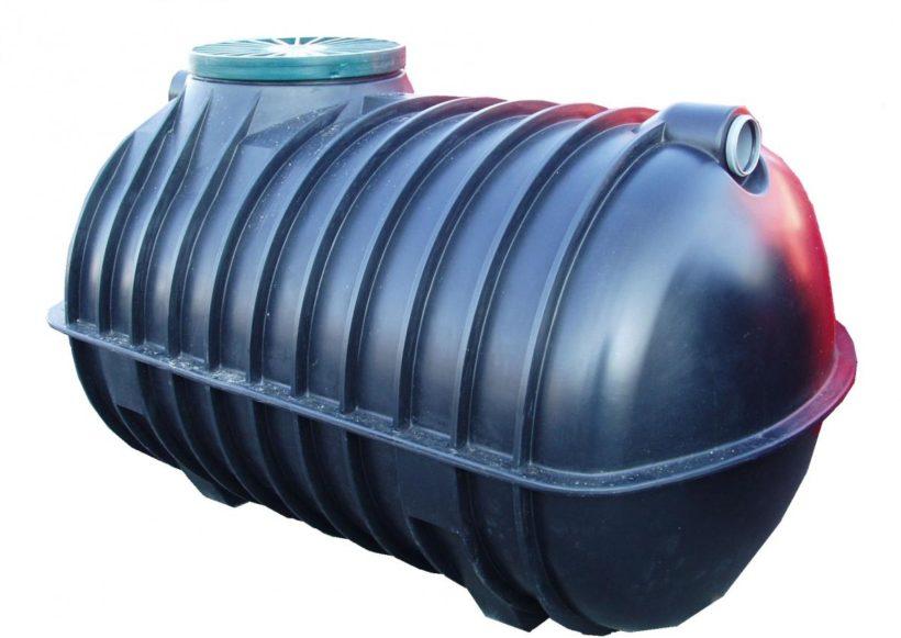 резервуар-накопитель для канализации