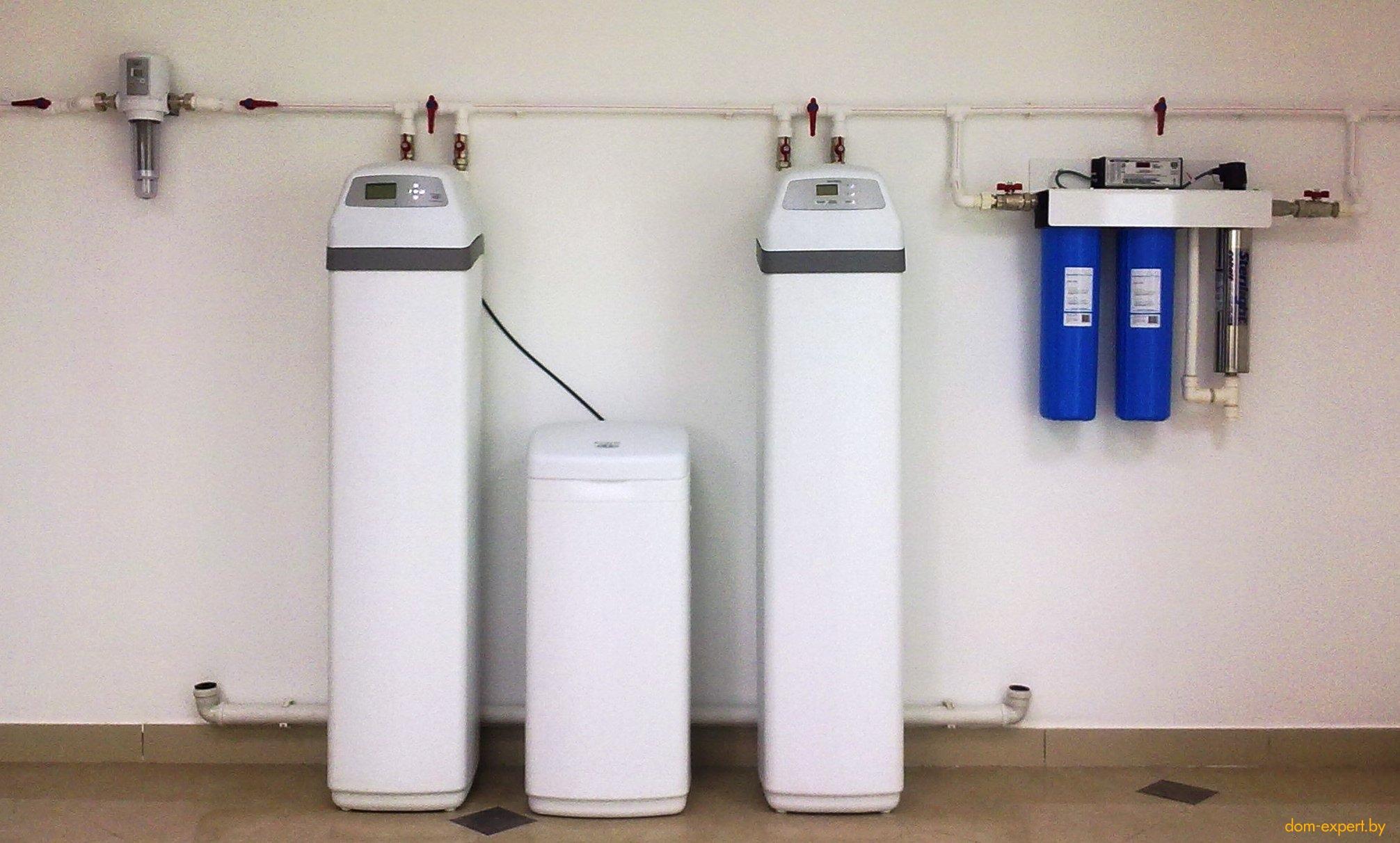 водный фильтр для коттеджа