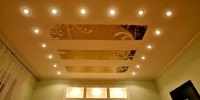 Купить золотой натяжной потолок в Екатеринбурге