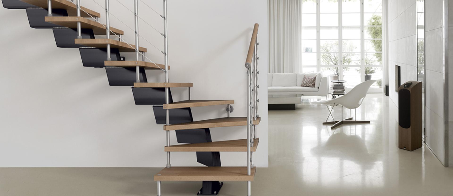Особенности модульных лестниц из дерева